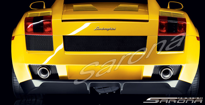 Custom Lamborghini Gallardo  Coupe Rear Bumper (2004 - 2008) - Call for price (Part #LB-001-RB)