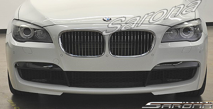 Custom BMW 7 Series  Sedan Front Bumper (2009 - 2015) - $890.00 (Part #BM-031-FB)