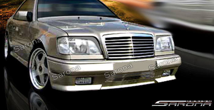 Custom Mercedes E Class Coupe & Convertible Front Add-on Lip