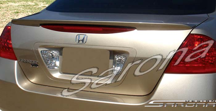 Custom Honda Accord Sedan Trunk Wing (2006 - 2007) - $230 ...
