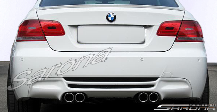 Custom BMW 3 Series Coupe Rear Bumper 2007