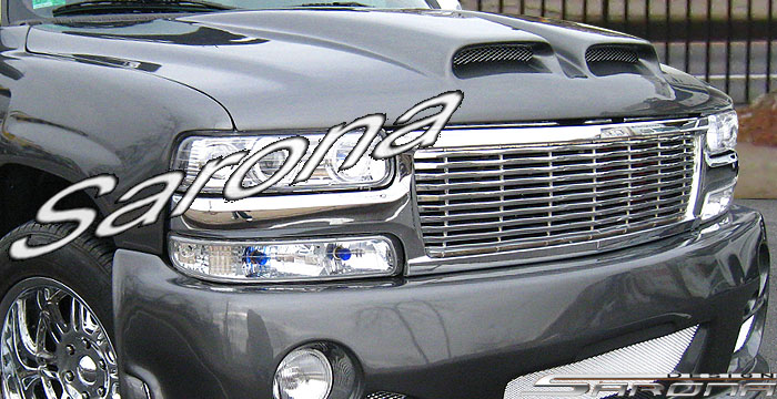 Custom Chevy Tahoe  SUV/SAV/Crossover Hood (2000 - 2006) - $890.00 (Part #CH-021-HD)