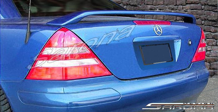 Custom 97 01 Slk Wing 92 19 Coupe Trunk Wing 1998