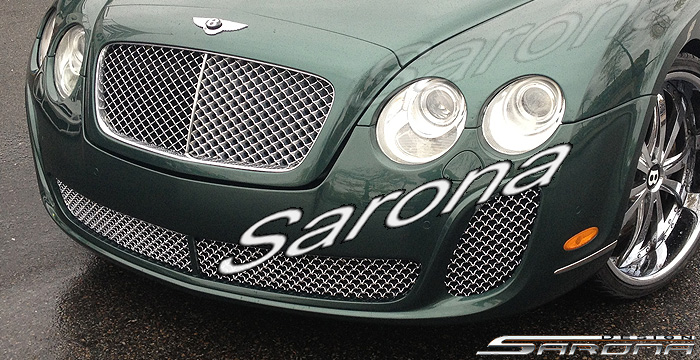 Custom Bentley GTC  Convertible Front Bumper (2003 - 2009) - $1790.00 (Part #BT-002-FB)