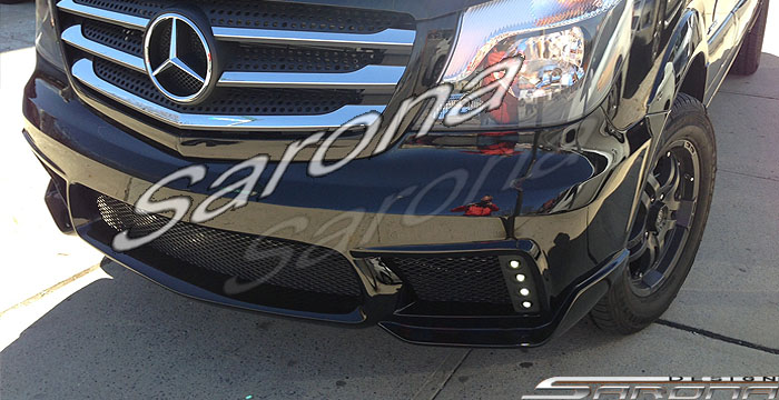 Custom Mercedes Sprinter  Van Front Bumper (2014 - 2018) - $1090.00 (Part #MB-119-FB)