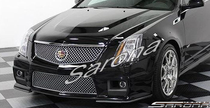 Custom Cadillac CTS Coupe Front Bumper (2008 - 2013) - $990 00 (Part
