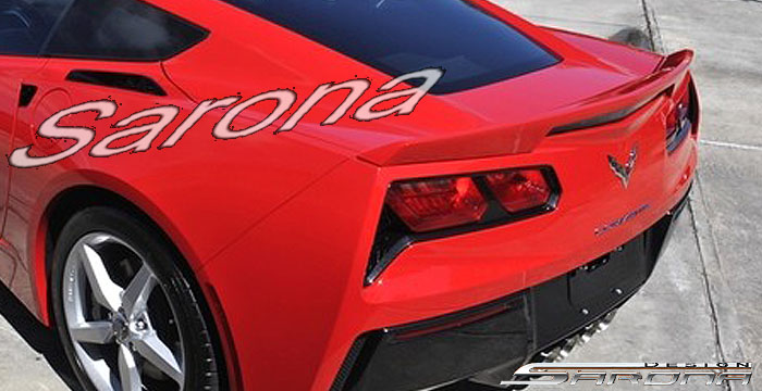 Custom Chevy Corvette Coupe Trunk Wing (2014 - 2015 ...