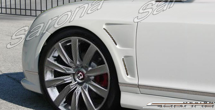 Custom Bentley GT  Coupe Fenders (2004 - 2010) - $2900.00 (Part #BT-001-FD)