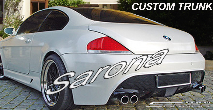 Custom BMW 6 Series  Coupe Trunk Wing (2004 - 2007) - $2900.00 (Part #BM-099-TW)