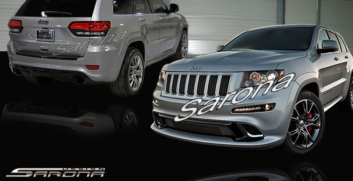Custom Jeep Grand Cherokee  SUV/SAV/Crossover Body Kit (2011 - 2013) - $1890.00 (Part #JP-008-KT)