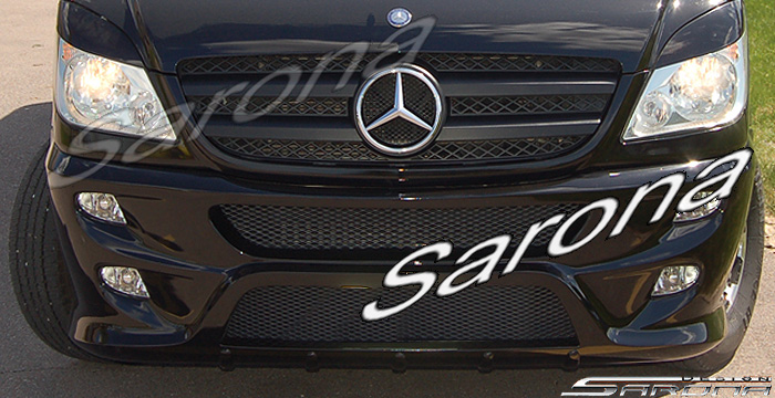 Custom Mercedes Sprinter  Van Front Bumper (2014 - 2018) - $790.00 (Part #MB-131-FB)