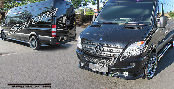 Custom Mercedes Sprinter  Van Body Kit (2014 - 2018) - $1890.00 (Part #MB-142-KT)