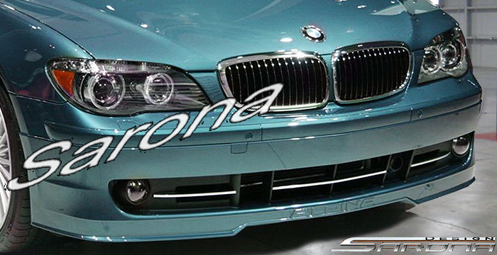 Custom BMW 7 Series  Sedan Front Bumper (2005 - 2008) - $780.00 (Part #BM-036-FB)