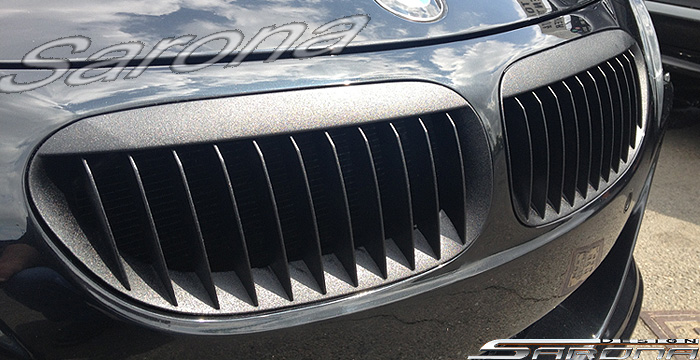 Custom BMW 6 Series  Coupe & Convertible Grill (2004 - 2010) - $169.00 (Part #BM-003-GR)