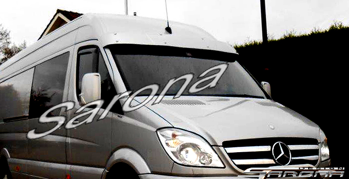 Custom mercedes sprinter sun visor sarona for Mercedes benz sprinter sun visor