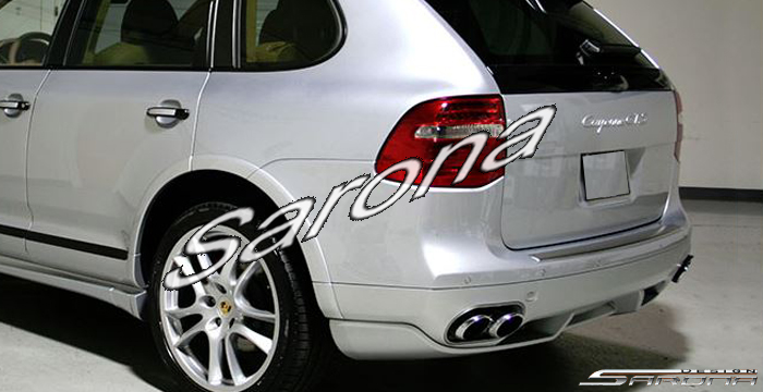 Custom Porsche Cayenne Suv Sav Crossover Rear Add On Lip