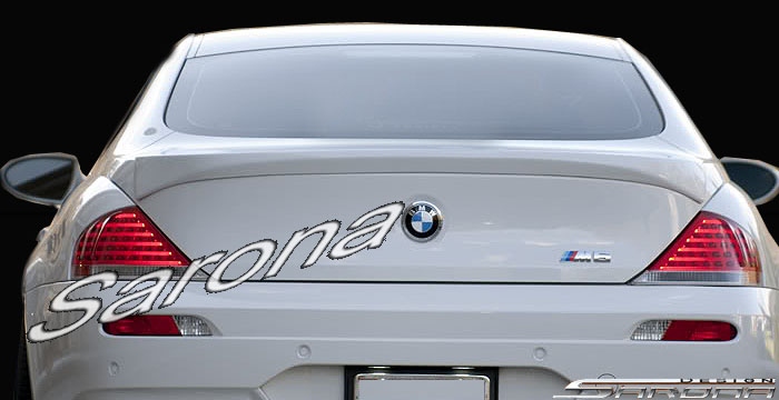 Custom BMW 6 Series  Coupe Trunk Wing (2004 - 2007) - $425.00 (Part #BM-102-TW)