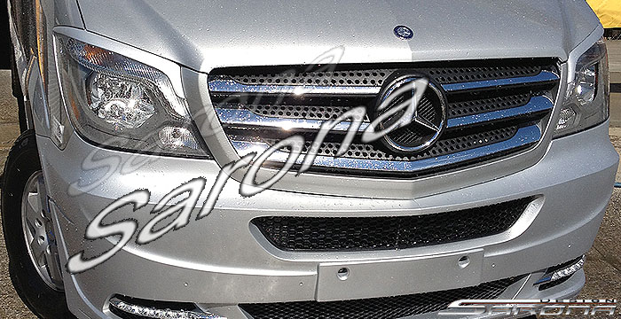 Custom mercedes sprinter eyelids sarona for Mercedes benz sprinter sun visor