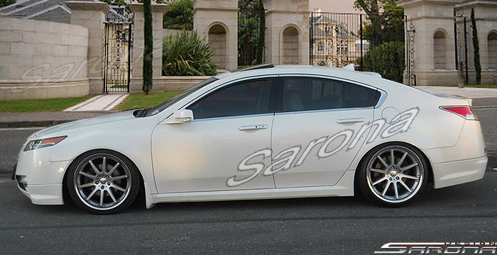 Custom Acura Tl Side Skirts Sarona