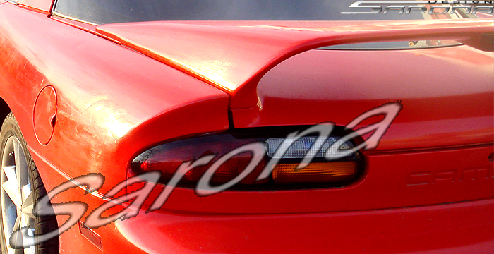 Custom Chevy Camaro Trunk Wing Coupe 1993 2002 353