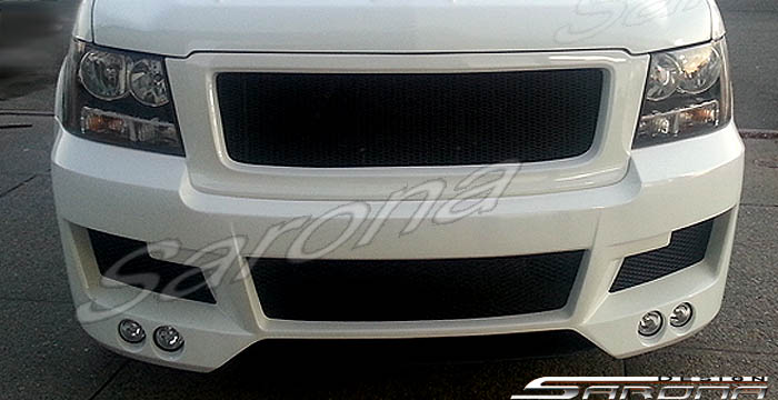 Custom Chevy Tahoe  Truck Front Bumper (2007 - 2014) - $1190.00 (Part #CH-029-FB)