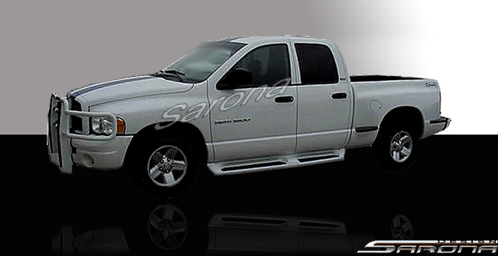 Dodge Ram Pick Up Spoiler Running Board Side Steps Body Kits Kit on 1986 Dodge Ram 3500