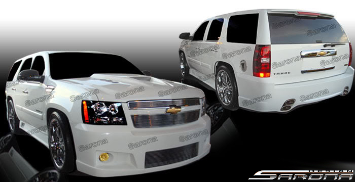 Custom Chevy Tahoe  SUV/SAV/Crossover Body Kit (2007 - 2014) - $1390.00 (Part #CH-045-KT)