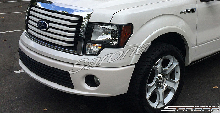 Custom Ford F 150 Truck Front Add On Lip 2009 2014