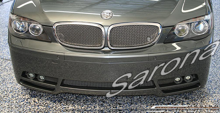 Custom BMW 7 Series  Sedan Front Bumper (2005 - 2008) - $790.00 (Part #BM-041-FB)