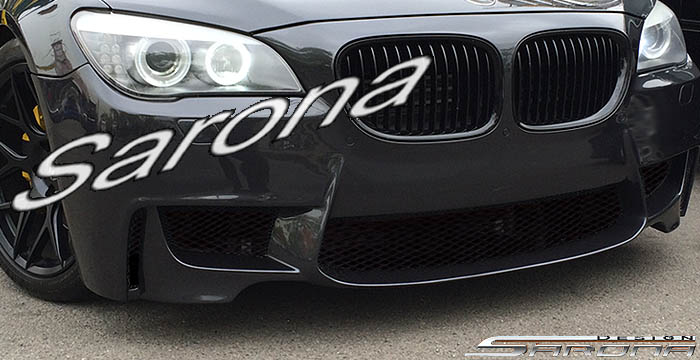 Custom BMW 7 Series  Sedan Front Bumper (2009 - 2012) - $850.00 (Part #BM-044-FB)
