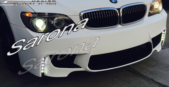 Custom BMW 7 Series  Sedan Front Bumper (2005 - 2008) - $790.00 (Part #BM-051-FB)