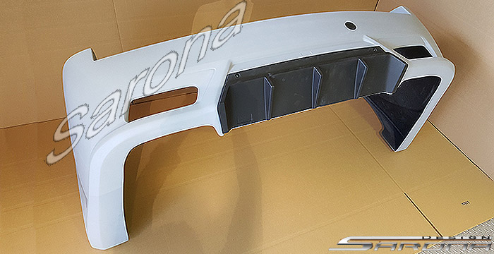 Custom Chevy Suburban SUV/SAV/Crossover Rear Bumper (2007 ...