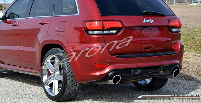 Custom Jeep Grand Cherokee Suv Sav Crossover Rear Bumper