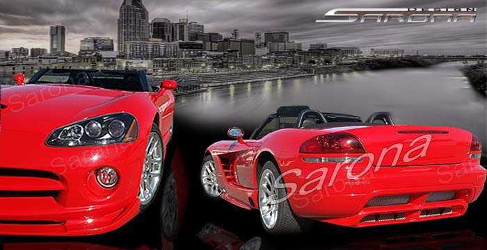 Custom 03-04 Viper Kit # 17-23  Coupe Body Kit (2003 - 2010) - $1490.00 (Manufacturer Sarona, Part #DG-005-KT)