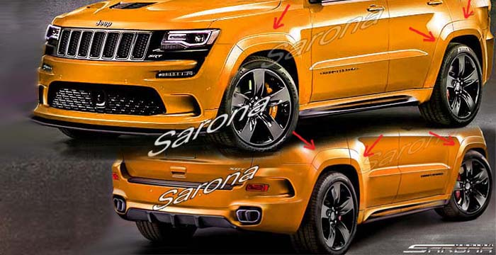 Jeep Grand Cherokee Srt Floor Mats 2014 2015 Custom Made