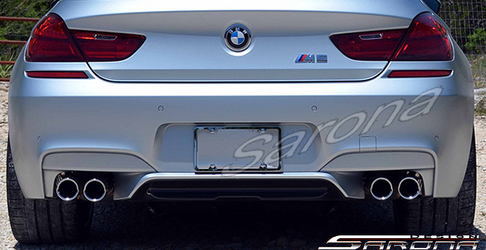 Custom BMW 6 Series  Sedan Rear Bumper (2011 - 2016) - $790.00 (Part #BM-038-RB)