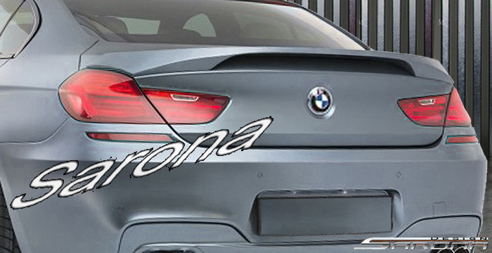 Custom BMW 6 Series  Coupe & Sedan Trunk Wing (2011 - 2017) - $479.00 (Part #BM-113-TW)