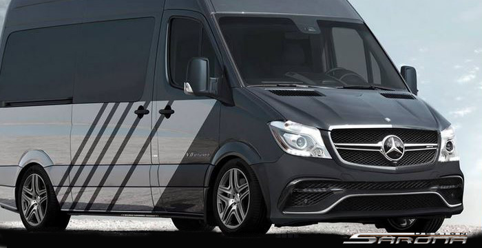Custom Mercedes Sprinter Van Body Kit (2014 - 2018 ...