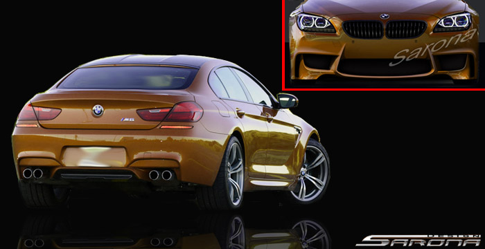 Custom BMW 6 Series  Sedan Body Kit (2011 - 2016) - $1980.00 (Part #BM-075-KT)