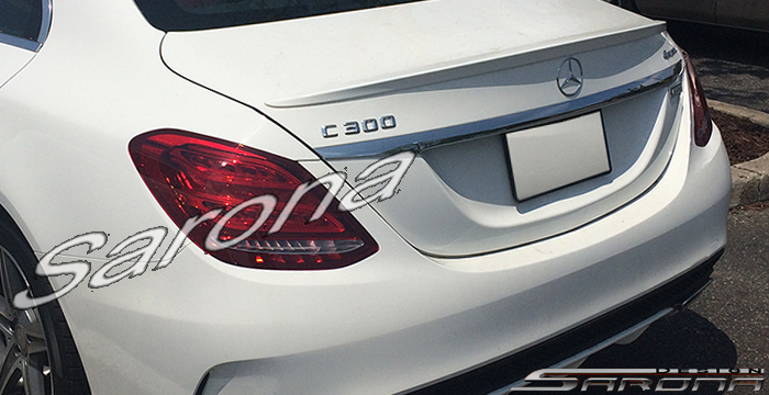 Custom Mercedes C Class Sedan Trunk Wing 2015 2018