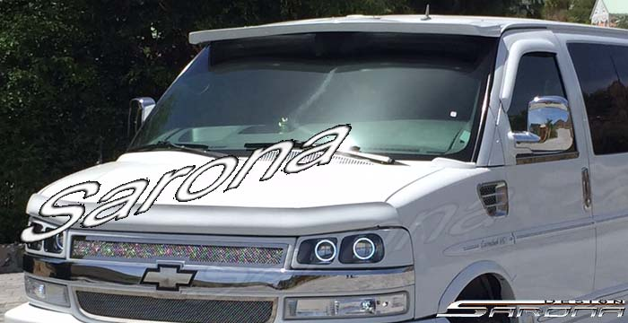 Custom Chevy Van All Styles Sun Visor 1996