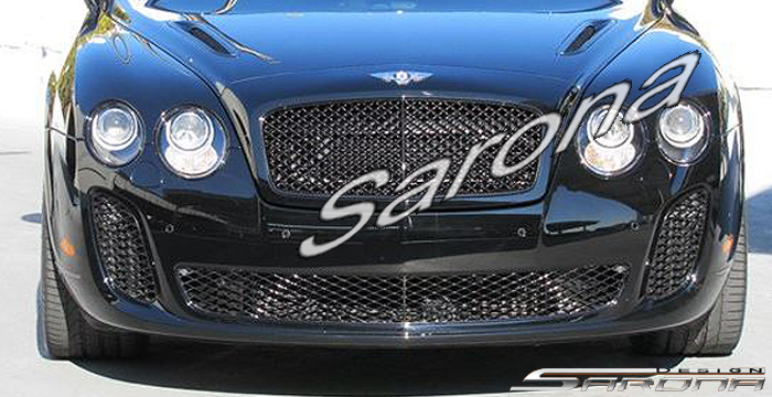 Custom Bentley GTC  Convertible Front Bumper (2010 - 2012) - $1980.00 (Part #BT-004-FB)