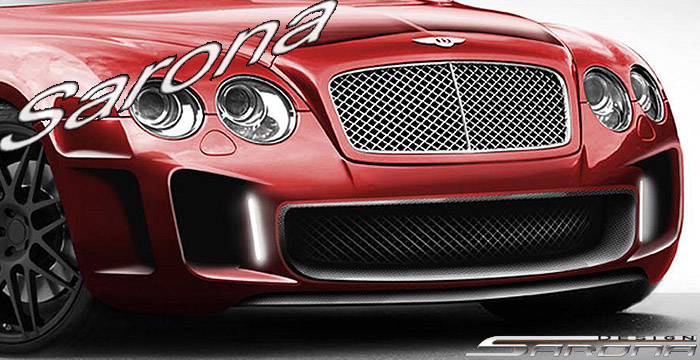 Custom Bentley GT  Coupe Front Bumper (2003 - 2009) - Call for price (Part #BT-005-FB)