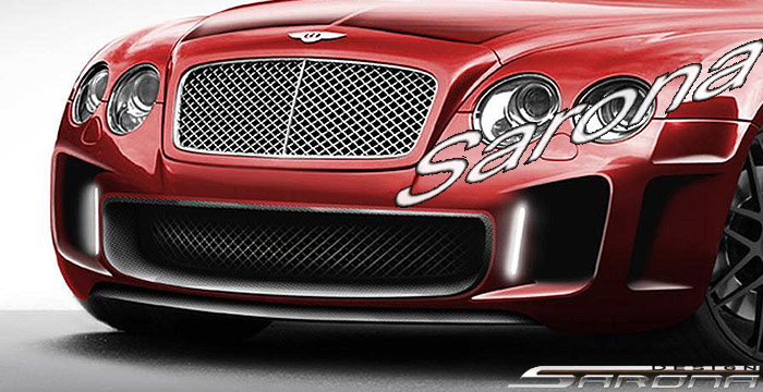 Custom Bentley GTC  Convertible Front Bumper (2003 - 2009) - Call for price (Part #BT-006-FB)