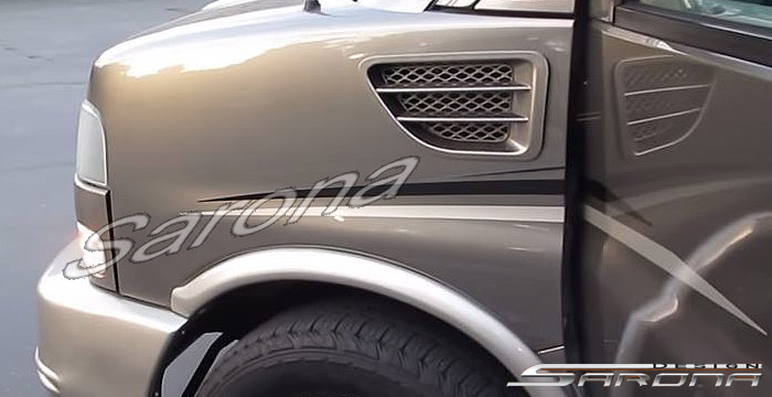 Custom Chevy Van Side Vents - Sarona