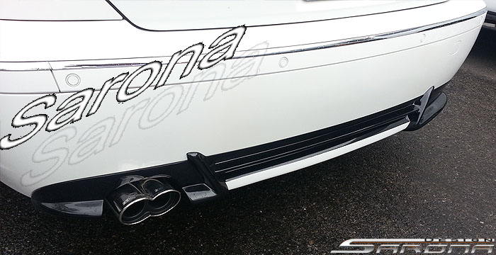 Custom BMW 7 Series  Sedan Rear Add-on Lip (2002 - 2005) - $389.00 (Part #BM-029-RA)