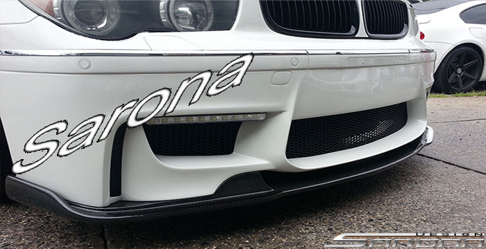 Custom BMW 7 Series  Sedan Front Add-on Lip (2002 - 2008) - $790.00 (Part #BM-058-FA)