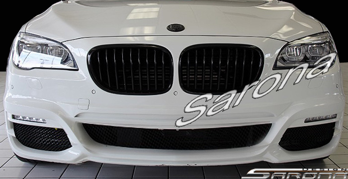 Custom BMW 7 Series  Sedan Front Bumper (2009 - 2015) - $890.00 (Part #BM-064-FB)