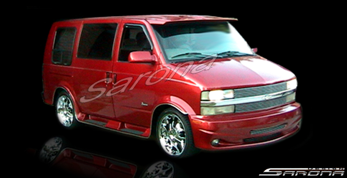 Chevy Astro Gmc Safari Custom Mini Van Conversion Customizing Customized New Sarona York Jersey Body Kit Kits Running Boards Roof Spiler Wing Side Steps Sunvisor Ventshade Chrome Grill