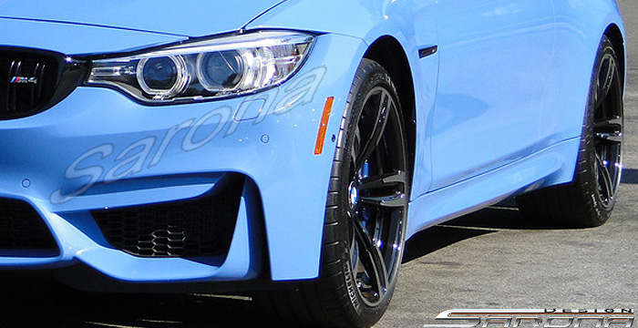 Custom BMW 3 Series Coupe Convertible Side Skirts 2012